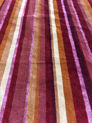 VTG 1960-70s Fabric Mid Century Modern 32 Inch Wide 31 Long for Upholstery