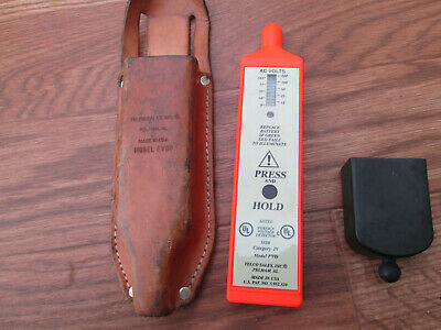 Telco Sales FVD/FVDP Foreign Voltage Detector w/ Leather Pouch & cap