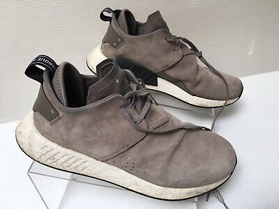 ADIDAS NMD C2 Brown Suede Men's Size 10 ULTRA BOOST BY9913 ...
