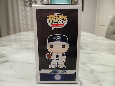 Funko Pop! Football NFL Los Angeles Rams Jared Goff 95