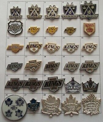 Different Teams (Los Angeles Toronto) Nhl Hockey Logo Pin (Your Choice) # G857