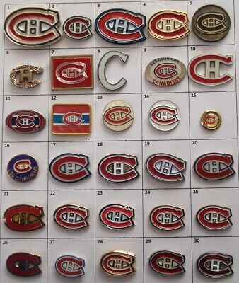 Different Teams (Montreal Canadiens) Nhl Hockey Logo Pin (Your Choice) # G860