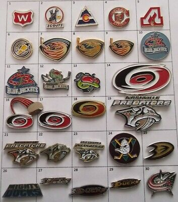 Different Teams Nhl Hockey Logo Pin (Your Choice) # G864