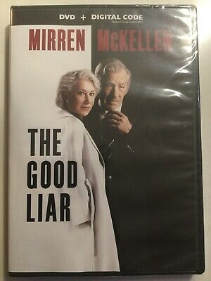 The Good Liar [DVD + Digital] Brand NEW Thriller with Helen Mirren IAN McKELLEN