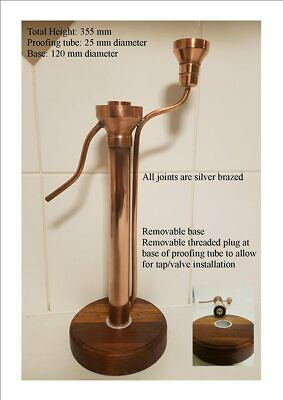 High quality Copper Distilling Proofing Parrot Still Home Brew Alcohol Spirits