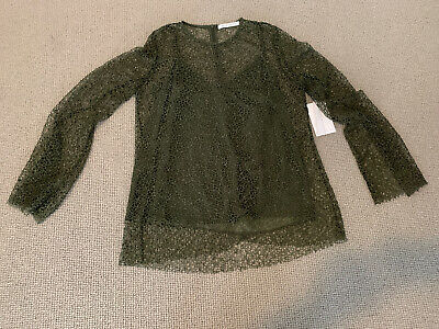 Camilla And Marc Filligree Lace Top BNWT Size 14