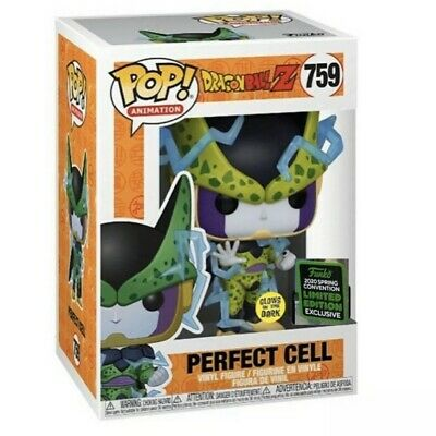 Funko Pop! Perfect Cell GITD 2020 ECCC Shared Exclusive DBZ Dragon Ball Preorder