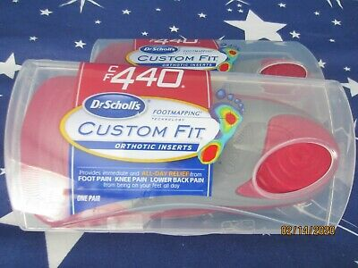 Dr. Scholl's Cf 440 Custom Fit Orthotic Inserts- 2 Sets