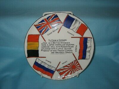 Goss WW1 'To Cook A German' Plate