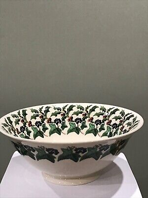 Emma Bridgewater Holly and Ivy Serving Bowl