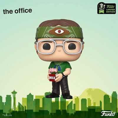 Funko Pop RECYCLOPS DWIGHT SCHRUTE OFFICE Shared EXCL ECCC 2020 *PREORDER*