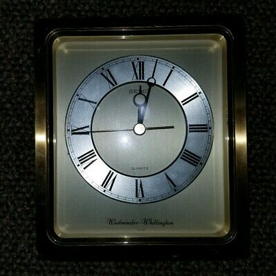 Seiko Mantle/Shelf Clock by Westminster Whittington Japan Movement Chimes works