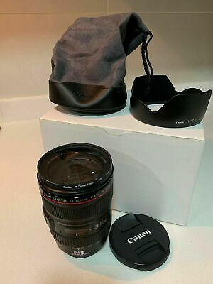 EXCELENTE CANON EF 24-105 mm F4 L IS USM