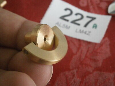 KEY Clock 4mm Winding Brass Handle Elliott + brands movement parts spare Garrard