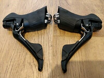 Campagnolo CENTAUR Brake NEW Gear Levers Shifters PAIR 2x11 Speed Silver