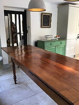 18th Century French Cherry Long Dining Table