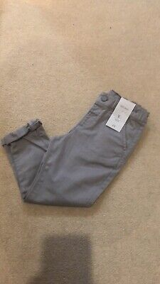 Boys Smart Grey Chinos - Age 2-3 BNWT