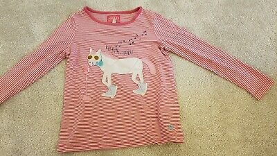 Joules Girls Horse Top Age 5-6
