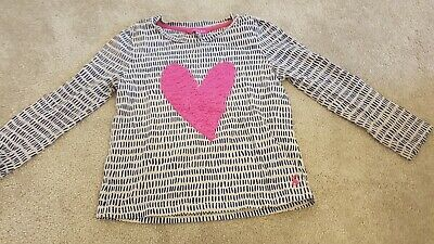 Joules Girls Heart Top Age 5-6