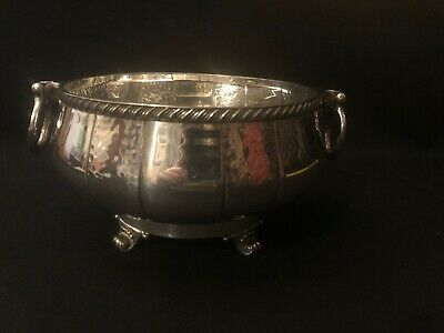 JB Chatterley Arts & Crafts Silver Plated Bowl