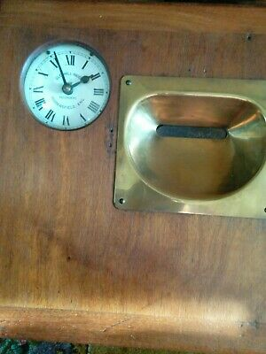 Gledhill Brook Vintage Desk Autograph Time Recorder Clock Clocking in Machine