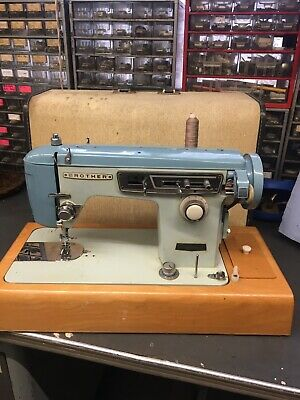 Vintage Semi Industrial Zigzag Brother Sewing Machine Electric
