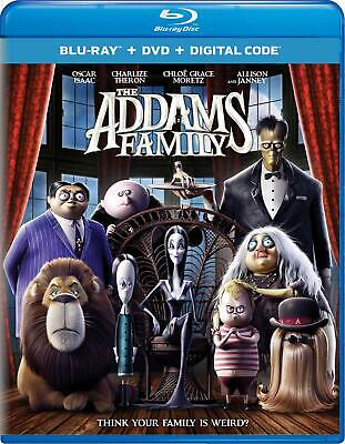 The Addams Family (Blu-ray + DVD, 2020) LIKE NEW w/ Slipcover! (No Digital)
