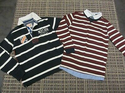 boys size 9-10 years rugby shirts tops from next & jasper conran, bundle