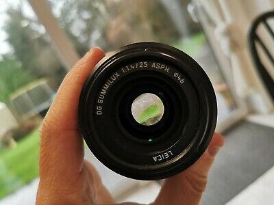 Panasonic 25mm f/1.4 ASPH Lumix Leica Lens  Micro 4/3rds system-Boxed