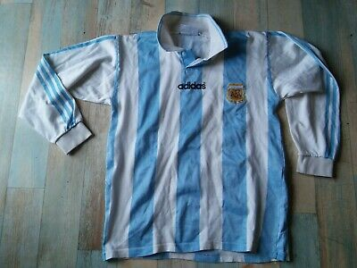 Maillot Foot Adidas Equipe Argentine Afa Replique Taille M/D5 Tbe