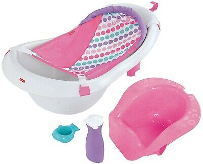 Fisher-Price 4-in-1 Sling 'n Seat Baby Tub, Pink