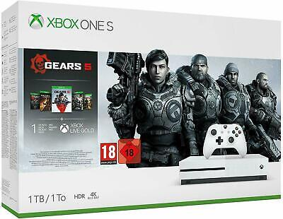Xbox One S 1Tb Gears 5 Bundle **BRAND NEW, SEALED, FAST FREE DELIVERY**
