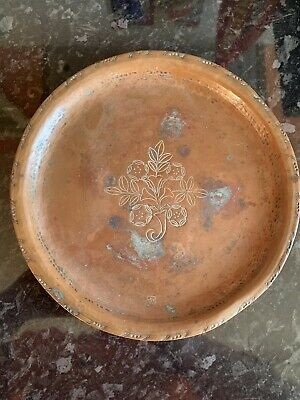 Hugh Wallis Arts & Crafts Copper Plate