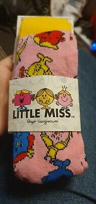 Little Miss tights 2 pairs age 3 to 4 years