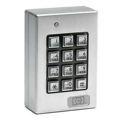 "LINEAR 232SE Weather Resistant Keypad,4-1/2"" H"