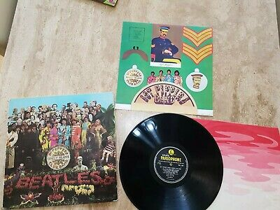 "The Beatles ""Sgt Pepper's"" LP Mono Vinyl"