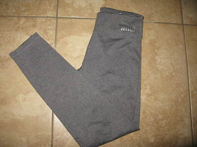 Justice Dance Activewear Gray Heather Leggings Size 14