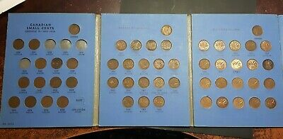 Canada Small Cents Set  1920 - 1972 Whitout Key Dates