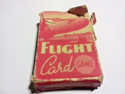 PEPYS SERIES FLIGHT CARD GAME COMPLETE VINTAGE 1970s PLAYING CARDS