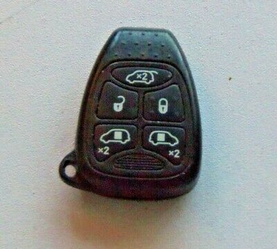 chrysler 5 button alarm remote