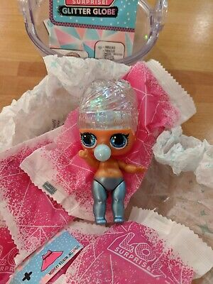 LOL Surprise Winter Disco Glitter Globe MISS SNOW Doll (New /Only doll opened)