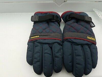 Baker Ted Gloves Boys Age 3 - 6 Thinsulate Blue padded