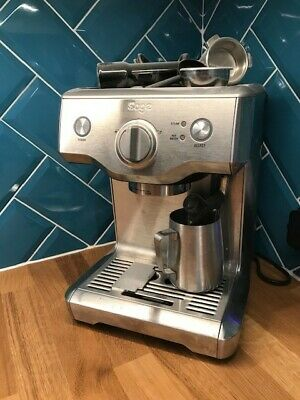 Sage Duo Temp Pro Espresso Coffee Machine, Brushed Stainless Steel