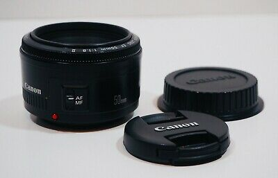 Canon EF 50mm F/1.8 II Lens Excellent Condition