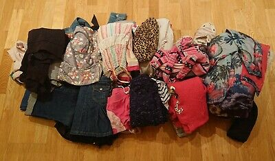 Huge bundle Girls clothes Age 7-8 Years 60+ items