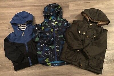 Toddler  Boy Coat & Jacket Bundle Howick, George & Bluezoo, Age 2-3 Years