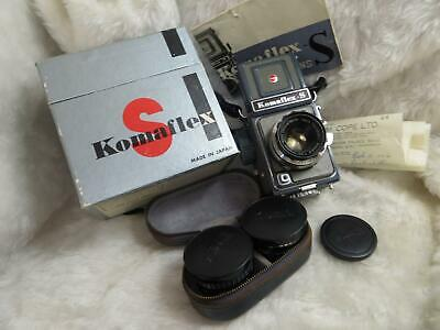 Boxed Komaflex-S 127 SLR with Extra Lenses -READ FIRST-