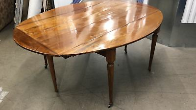 Absolutely Beautiful Double Drop Leaf Solid Wood Antique Table