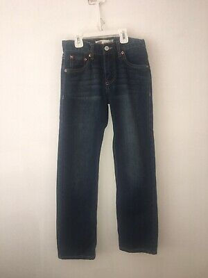 Size 12 Reg 26x26 Boys Straight Slim Fit Levi Strauss Jeans 514