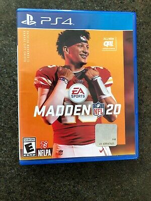 Madden NFL 20 - PS4 - Standard Edition (Sony PlayStation 4)